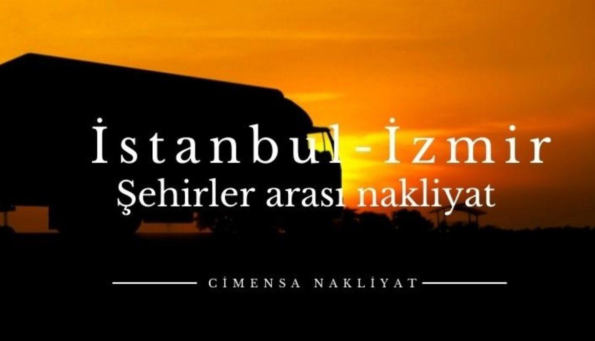 İstanbul İzmir Şehirler Arası Nakliyat